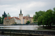 Old Quarter viewed from Kampa Island