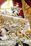silver tomb of St John of Nepomuk
