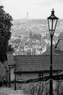 stairs to prague castle