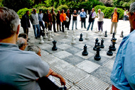 chess in the square