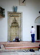the standing and prostrate elements of prayer